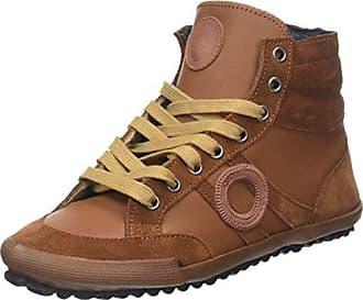 Ido, Zapatillas Altas para Mujer, Marrón (Tan), 39 EU Aro