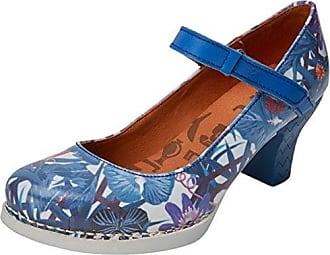 0933F Fantasy Harlem, Zapatos de Tacón con Punta Cerrada para Mujer, Varios Colores (Hawai), 39 EU Art