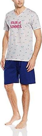 Pyjama court Praia Marine-Conjunto ropa deportiva Hombre azul (Marine) Large Arthur 52ykrEbPs