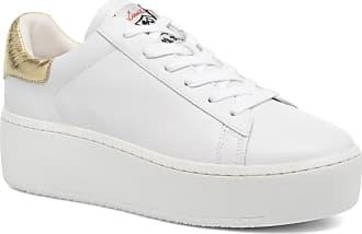Sneaker Femme Pas cher en Soldes, Blanc, Cuir Nappa, 2017, 36 37 40Ash