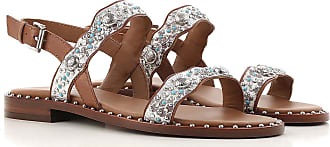 Sandals for Women On Sale, Silver, Leather, 2017, 3.5 4.5 5.5 7.5 Ash