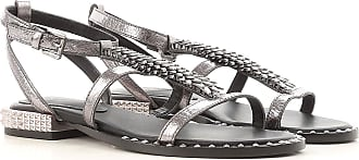 Sandals for Women On Sale, Black, Leather, 2017, 2.5 3.5 5.5 Ash