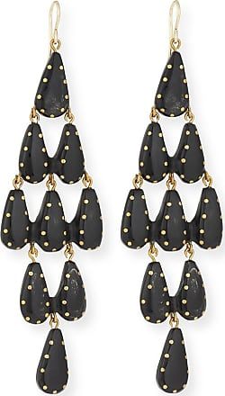 Ashley Pittman Densi Chandelier Horn Earrings c07Op09XJ