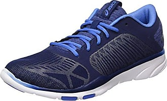 Asics Patriot 8, Gymnastique Femme - Bleu - Blu (Aquarium/Sport Pink/Deep Blue), 36 EU EU