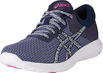 Asics Gel-Rocket 7, Scarpe da Pallavolo Uomo, Blu (Blue Jewel/Glacier Grey/Yellow), 48 EU