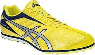 Männer Hyper Ld 5 Leichtathletik-Schuhe, EUR: 41.5, Fluorescent Yellow/Silver/Navy Asics