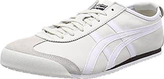 Asics Mexico 66, Chaussures de Running Mixte Adulte, Multicolore (White/Burgundy 0125), 42 EU