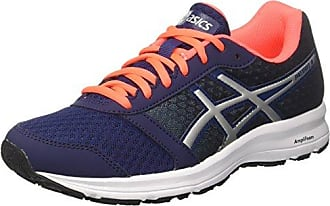Asics Patriot 9, Running Femme, Bleu (Indigo Blue/Silver/Flash Coral 4993), 35.5 EU