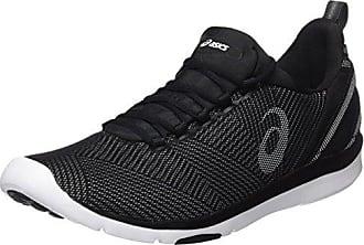 Asics Amplica, Chaussures de Running Compétition Femme, Noir (Black/Black/White 9090), 40.5 EU
