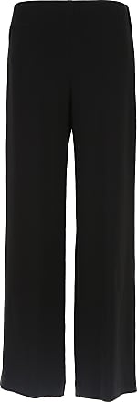 Pantalons Pour Les Femmes En Vente, Noir, Triacétate, 2017, 26 32 Aspesi