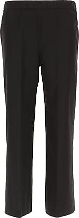 Pants for Women On Sale, Navy Blue, Cotton, 2017, 26 28 30 32 Aspesi