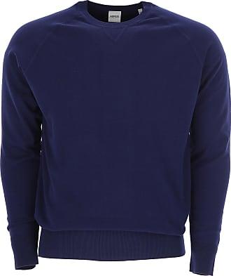 Camiseta de Hombre Baratos en Rebajas, Tinta Azul, Algodon, 2017, M XL Aspesi