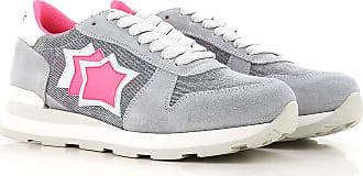Sneaker für Damen, Tennisschuh, Turnschuh Günstig im Sale, Pink, Wildleder, 2017, 36 37 38 40 Atlantic Stars