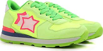 Sneaker für Damen, Tennisschuh, Turnschuh Günstig im Sale, Weiss, Wildleder, 2017, 35 36 37 38 40 Atlantic Stars