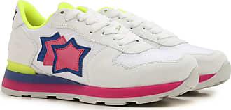 Sneaker für Damen, Tennisschuh, Turnschuh Günstig im Sale, Pink, Wildleder, 2017, 36 37 38 39 Atlantic Stars