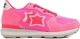 Sneakers for Women On Sale, fuxia, Suede leather, 2017, 3.5 4.5 5.5 Atlantic Stars