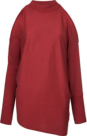 Pullover mit Cut-Outs - Rot AULA