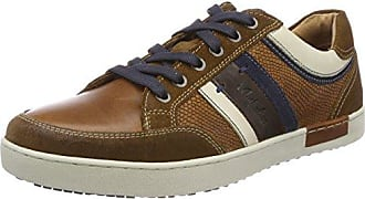 Weatherspoons Leather, Baskets Hautes Homme, Braun (Brown-Blue-Off White), 42 EUAustralian Footware