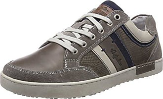 Mellow Leather, Baskets Homme, Bleu (Blue-Tan S12), 44 EUAustralian Footware