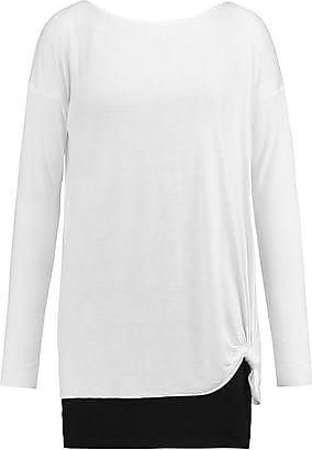 Bailey 44 Woman Poplin-paneled Knitted Top Anthracite Size S Bailey 44 Buy Cheap Buy Latest Collections For Sale Sale Find Great Discount With Paypal It6aQl1WZ