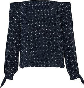 Bailey 44 Woman Off-the-shoulder Polka-dot Crepe De Chine Top Black Size XS Bailey 44 Outlet Real Clearance Pay With Paypal Outlet Store Cheap Online From China Free Shipping Low Price h2foZM