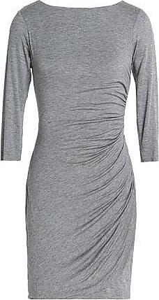 Bailey 44 Woman Twist-back Ruched Stretch-jersey Mini Dress Army Green Size M Bailey 44 HnuJV