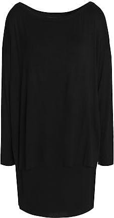 Cheap Sale Cheapest Bailey 44 Woman Layered Two-tone Stretch-jersey Mini Dress Black Size XS Bailey 44 Comfortable Sale Online Pick A Best Online Best Price Clearance Supply H4MlB