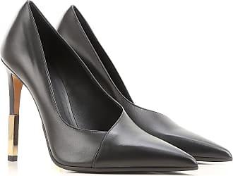 Pumps & High Heels for Women On Sale, Black, Leather, 2017, US 7.5 (EU 37.5) Balmain