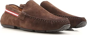 Driver Loafer Shoes for Men On Sale, Coffee, Suede leather, 2017, 5.5 5.5 7 8 Bally