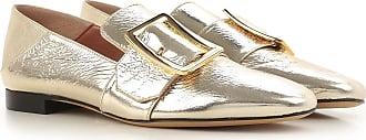 Slipper für Damen, Mokassin, Halbschuh Günstig im Sale, Champagne Gold, Leder, 2017, 35 35.5 36 36.5 37 38 Bally