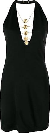 medallion chain dress - Black Balmain CZhPSUl8Z