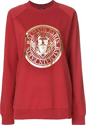 Amazing Price Sale Online Discount Best Prices logo printed jumper - Multicolour Balmain uWxSjH