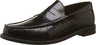 Strike, Mocasines para Hombre, Negro (Shine Black 012), 44 EU Base London