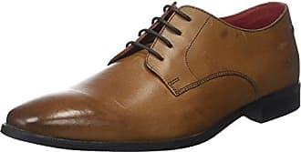 Shore Pn01 - Zapatos de ante para hombre, color azul, talla 46 Base London
