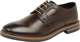Base London Chaussures À Lacets « Turner » Brun Clair / Brun Foncé OltFy