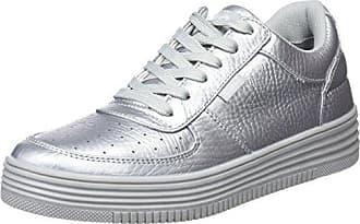 bass3d 41428, Zapatillas para Mujer, Plateado (Silver), 40 EU