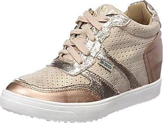 41440, Zapatillas Altas para Mujer, Plateado (Silver), 39 EU BASS3D