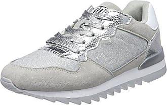 41480, Zapatillas para Mujer, Plateado (Silver), 40 EU BASS3D