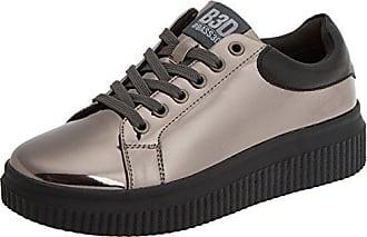 bass3d 041380, Zapatillas para Mujer, Plateado (Plomo), 40 EU
