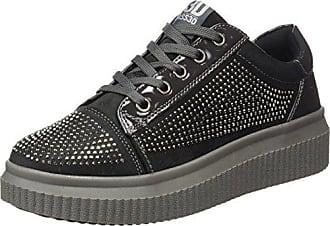 bass3d 41517, Zapatillas para Mujer, Negro (Black), 36 EU