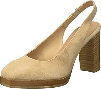 Bata 724195, Zapatos de Tacón con Punta Cerrada para Mujer, Amarillo (Giallo 8), 35 EU