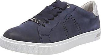Para mujer elástica malla elástico Superlight con bombas diseño de la Zapatillas zapatos de 3 4 5 6 7 8, color azul, talla 42