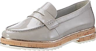 Be Natural 24740, Mocasines para Mujer, Gris (Lt. Grey), 37 EU