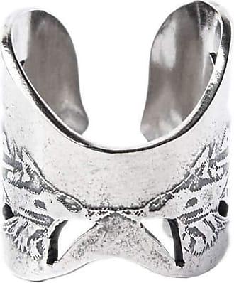 Becky Dockree Silver Angel Wing Ring - UK M - US 6 - EU 52 3/4 JeFIUJxV1L