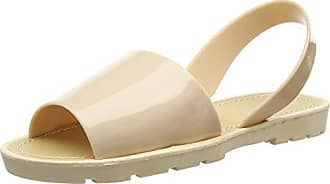 Bedroom AthleticsPlage - Sandali Donna, Beige (Beige (Nude)), 39