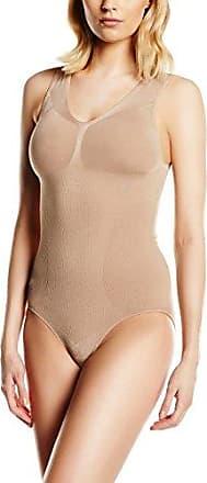 BELLY CLOUD Women's V-Body Mit Raffung Bodysuit, -Rosa (Rose 559)