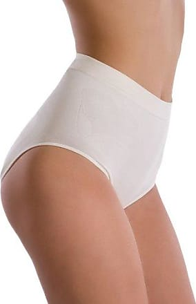 Womens Damen Slip Shape&Glam Figurformend, Seamless Control Knickers Belly Cloud