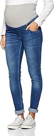 Slim Mit Überbauchbund, Jeans-Maternité Femme, Blau (Blue 0013), 34Bellybutton