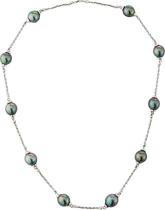 Belpearl 14k Tahitian Pearl & Chain Necklace, 16L