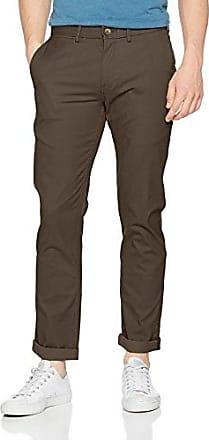 Slim Stretch Chino, Pantalones para Hombre, Blau (Dark Blue 026), W36/L34 Ben Sherman